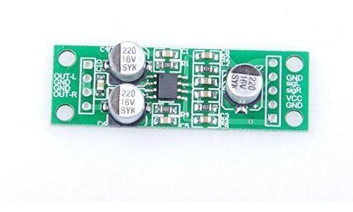 Xiny Tda2822 15 W Amplificador De 15 W Doble Canal Amplifica