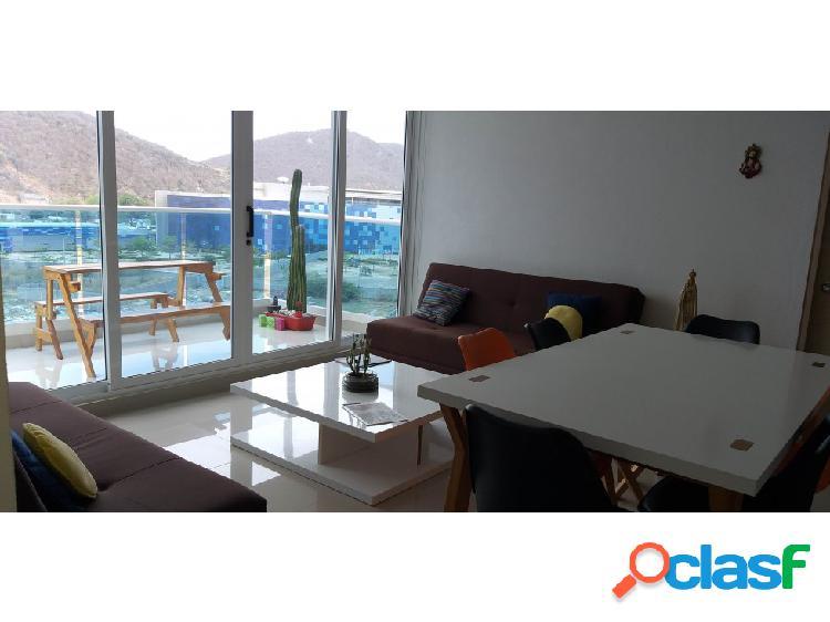 Apartamento en Playa Salguero Santa Marta – 001