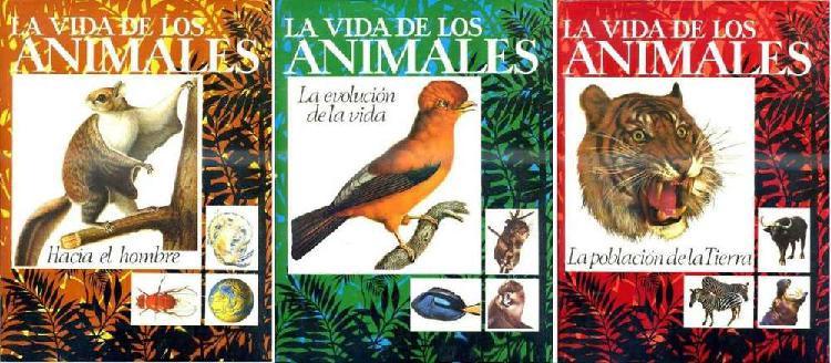 La Vida De Los Animales Enciclopedia de 3 Tomos. Editorial