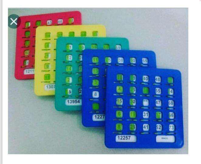 Tablas de Bingo