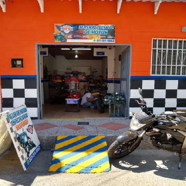 Vendo Servicio Técnico Especializado de Motos Bien