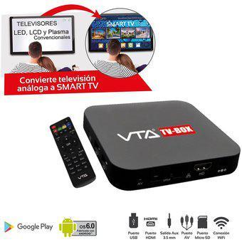 Box Convertidor Tv A Smart Tv Memoria 8Gb VTA