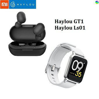 Combo XIaomi Haylou GT1 Negro +Haylou Smartwatch LS01_