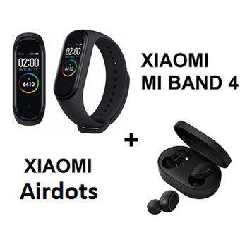 Combo Xiaomi Mi Band 4 Original + Audifonos Xiaomi Airdots