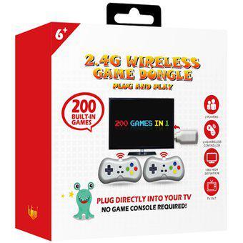 Consola de videojuegos retro y micro consola TV 200 juegos