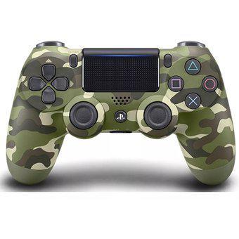 Control Ps4 Camuflado Verde Dualshock 4 + Regalo: Grips 2da