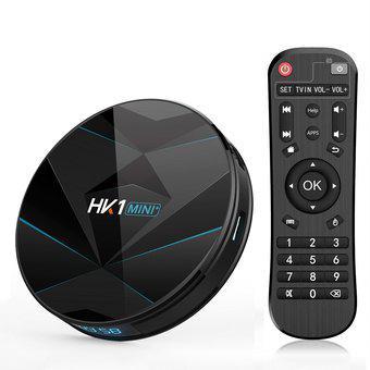 HK1MINI + 4K HD Smart TV BOX, Android 9.0 4GB + 32GB