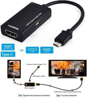 Micro USB 2.0 MHL A HDMI Cable HD 1080P Para Android Para