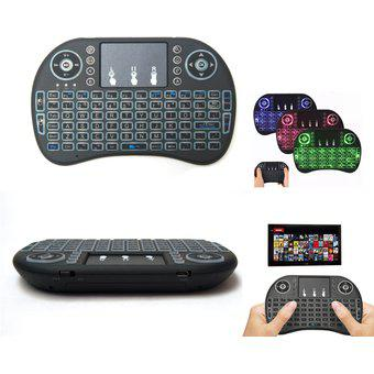 Mini Teclado Inalambrico Mouse Integrado 2.4Hz TV PC TV Box
