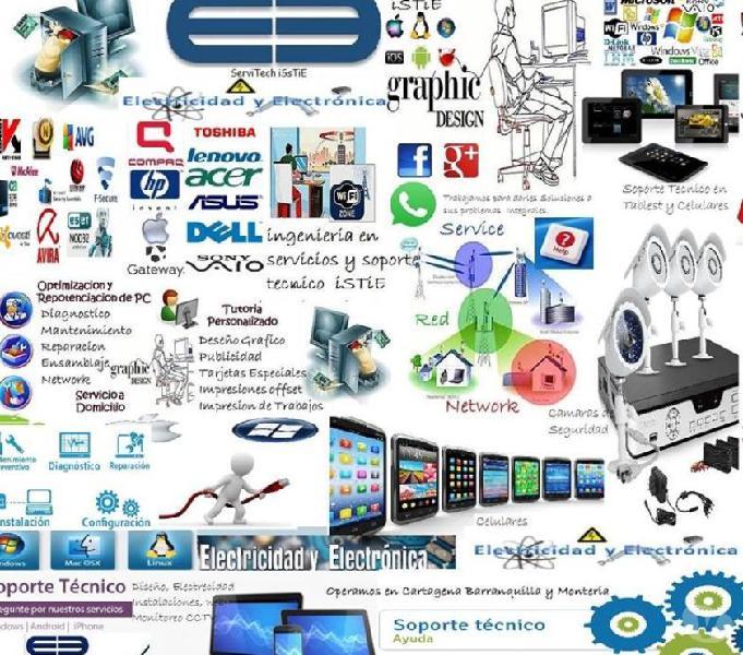 Soporte Técnico y reparaciones de computadores en cartegena