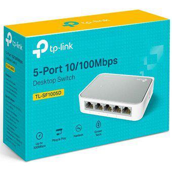 Switch De Escritorio De 5 Puertos 10/100 Tp-link Tl-sf1005d