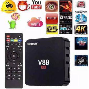 Tv Box Convierte Tu Televisor A Smart Tv