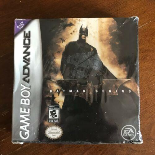Batman Comienza Con Game Boy Advance Nintendo Sealed New Gb