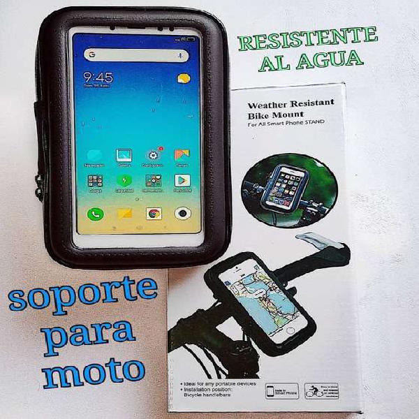 Estuche Soporte Celular Bicicleta Moto
