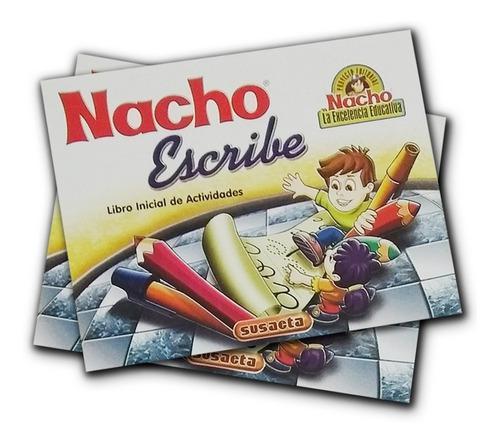 Libro Inicial De Actividades Nacho Escribe Susaeta
