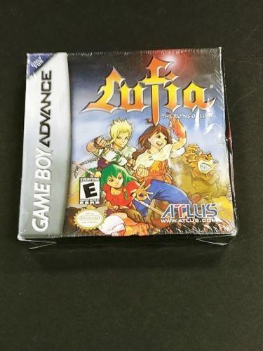 Lufia: The Ruins Of Lore (nintendo Game Boy Advance) Nuevo