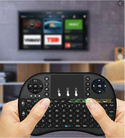 MINIKEYBOARD INALAMBRICO PARA SMART TV - TV BOX -