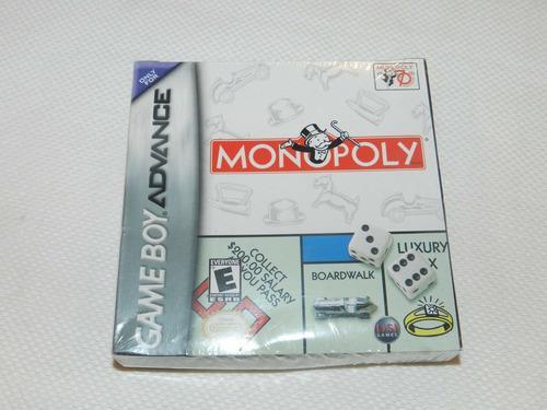 Monopoly Nintendo Game Boy Advance Gameboy Nuevo Sellado