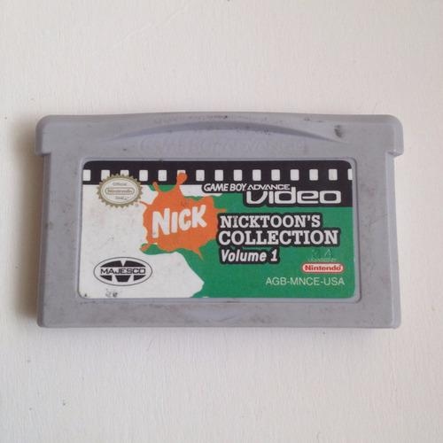 Nicktoons Collection 1 Nintendo Ds - Game Boy Advance