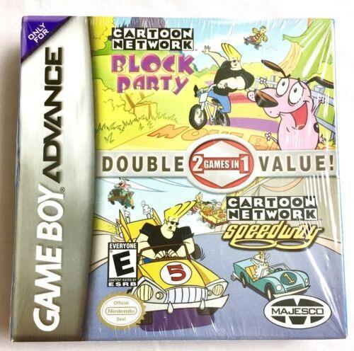 Nintendo Game Boy Advance Cartoon Network Block Party / Spe