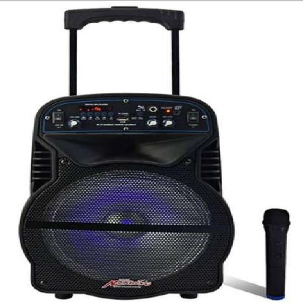 """PARLANTE BLUETOOTH 10"""" CH1012 CON RADIO FM LECTOR USB Y"""