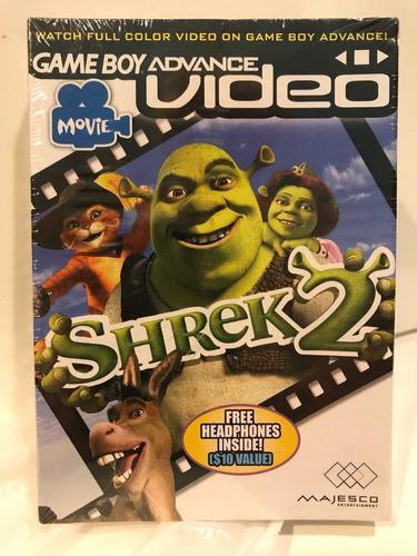 Película De Video De Game Boy Advance Shrek 2 Nintendo Fact