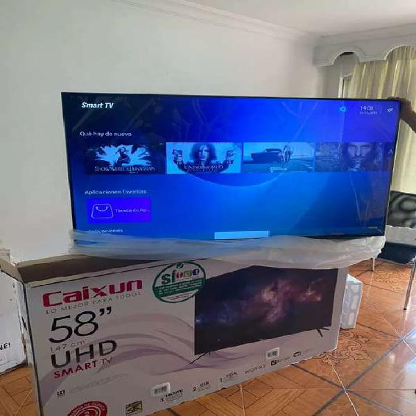 Televisor caixun smart TV UHD 4k de 58 pulgadas nuevo