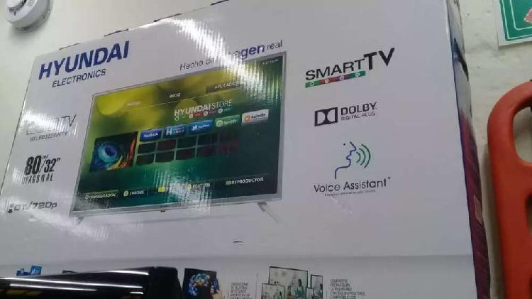 Televisor hyndai smart TV de 32 pulgadas wifi youtube