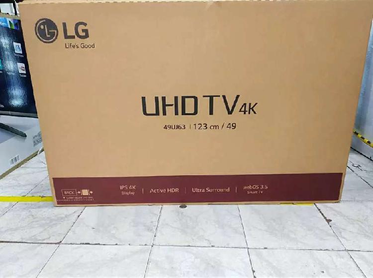 Televisor lg smart TV UHD 4k de 49 pulgadas