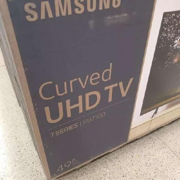Televisores Samsung de 49 curvo 4k