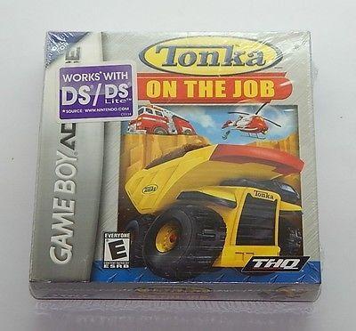Tonka En El Trabajo Nintendo Game Boy Advance Sealed R8376