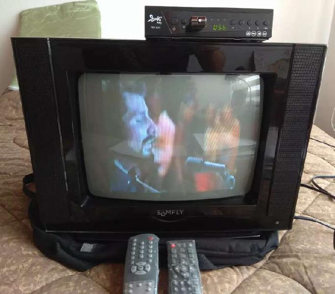 Vendo o permuto TV 14 pulgadas + Tdt