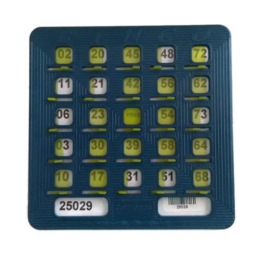 20 Cartones Plásticos Para Bingo Tablas De Bingo