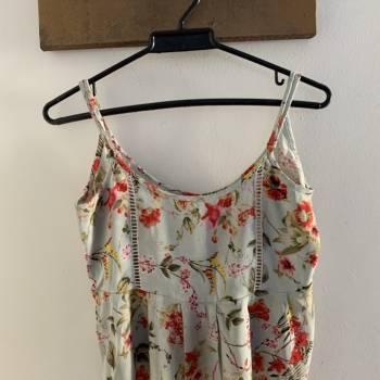 Blusa de tiras estampado floral