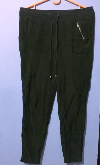 Pantalon negro seda
