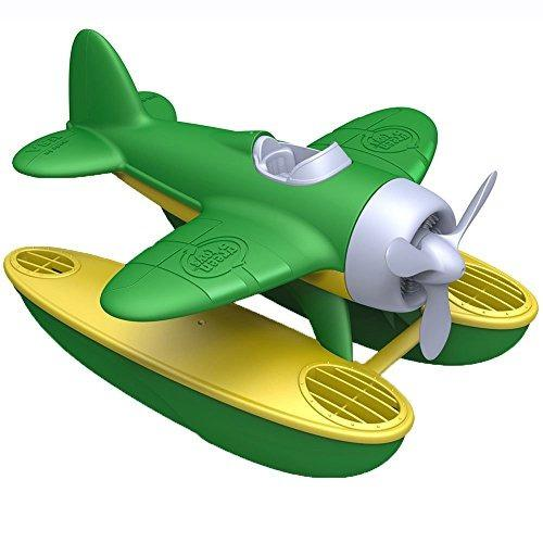 Avión Verde De Juguete Green Toys