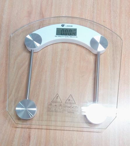 Bascula Digital Personal Pesa Balanza Baño Pantalla Lcd