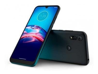 Celular Motorola E6s 32gb Azul Mediatek Celular Motoro Lk458