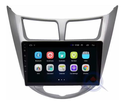 Radio Pantalla Android 8.1 Gps Wifi Hyundai I25 9p