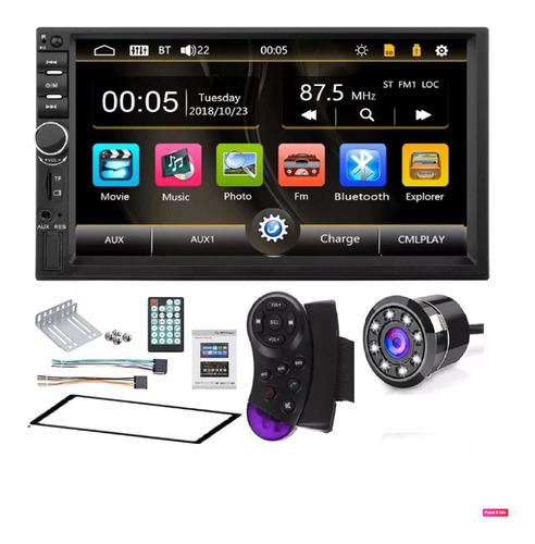 Radio Para Carro Pantalla Bluetooth Mirrorlink Mod 2020 +cam
