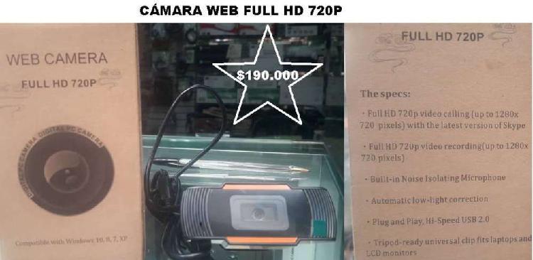 CAMARA WEB FULL HD 720P