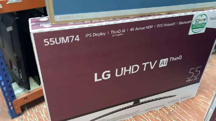 Hermoso televisor lg smart TV UHD 4k de 55 pulgadas nuevos