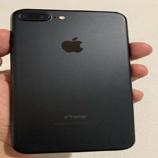 Iphone 7 plus 32gb negro mate como nuevo
