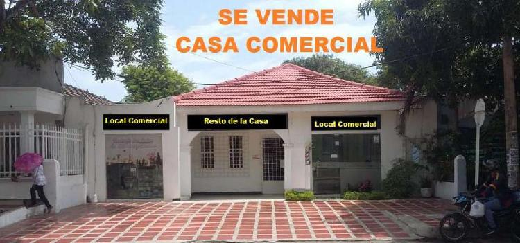 Local Casa Comercial en Arriendo BOSTON CON DOS LOCALES
