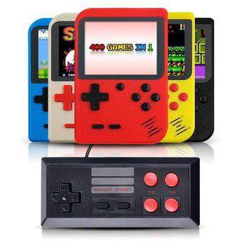 Mini Consola Portatil Retro 400 Video juegos 8 Bit Con
