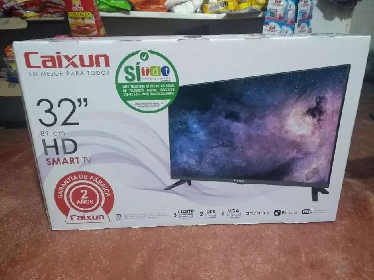 Smart TV de 32 pulgadas Marca caixun Nuevo de paquete. Con 2