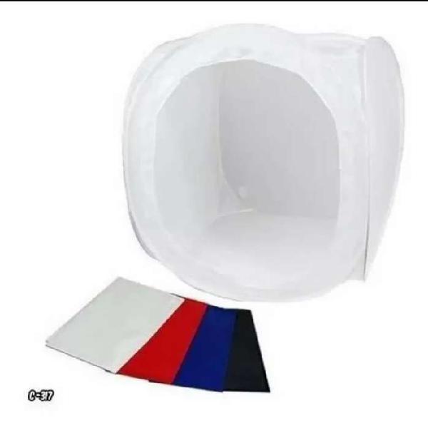 Softbox 50x50cm Caja Cubo Ligero Tienda De Fotos
