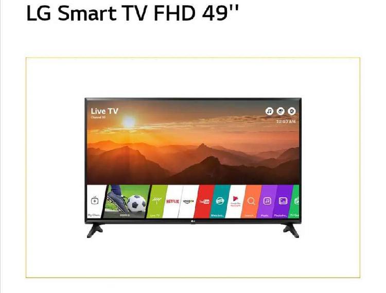 TV LG nuevo 49 pulgadas 4k smart