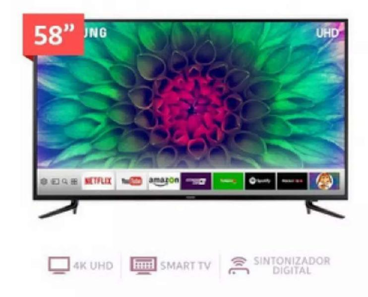Televisor LED Samsung 58 Pulgadas UHD 4K Smart TV Serie
