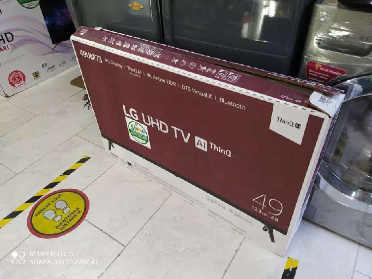 Televisor lg smart TV UHD 4k de 49 pulgadas nuevo garantía